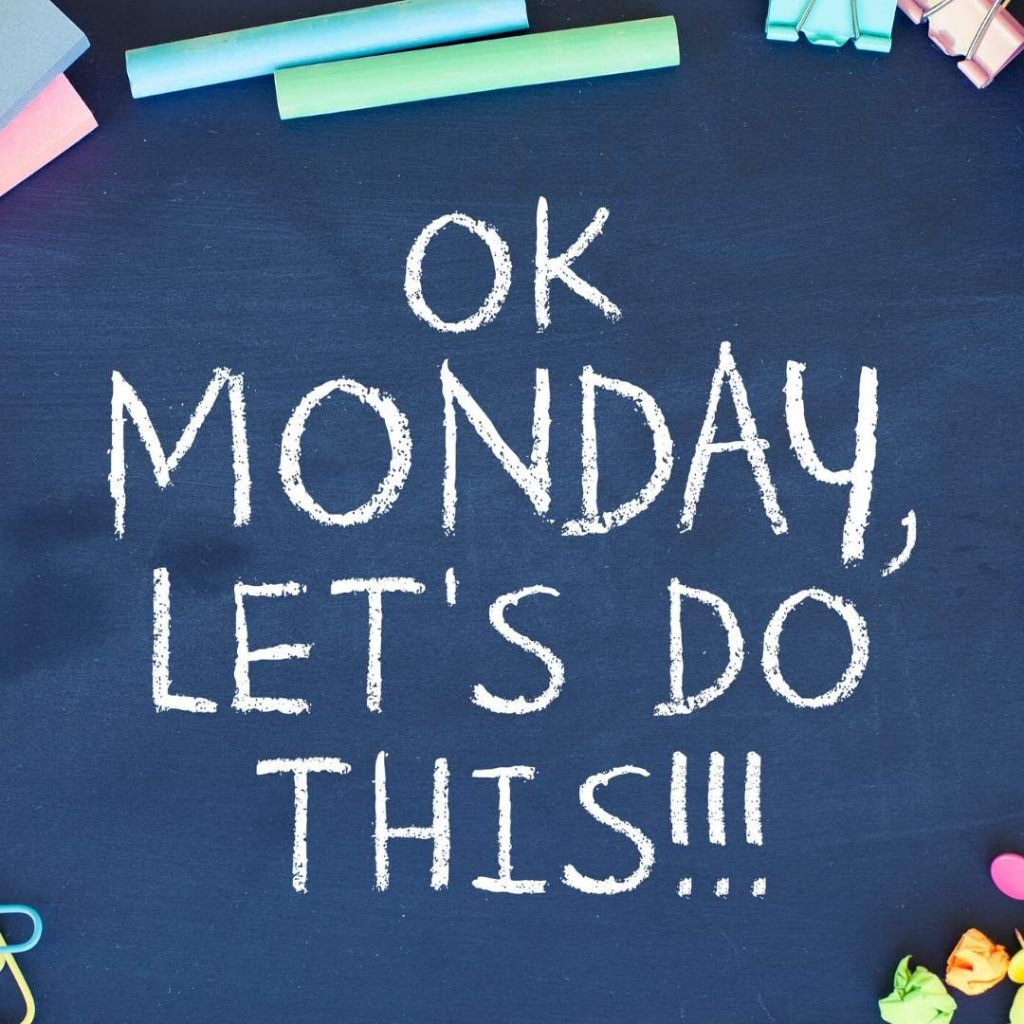 Do you wait till Monday to start your weight loss plan?