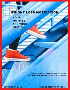 HodgeonRepeat Motivation for Weight Loss Ebook Cover Page