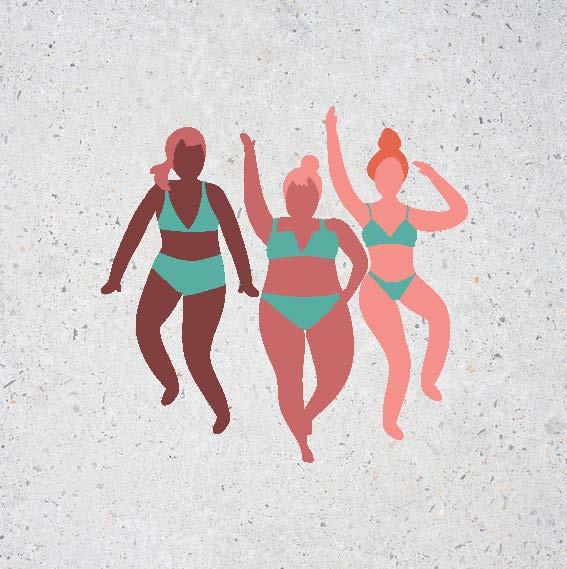 Illustration Three Women