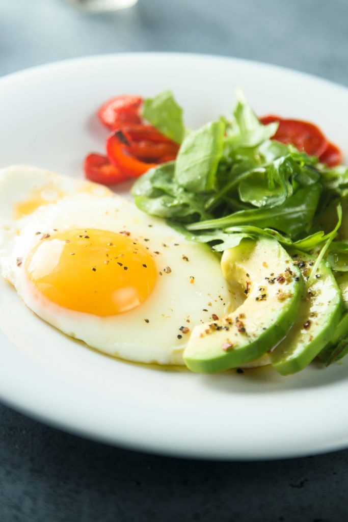 Whole foods egg and avocado