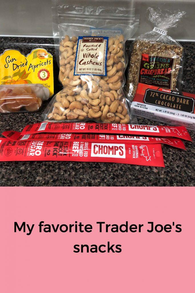 HodgeonRepeat favorite Trader Joe's snacks